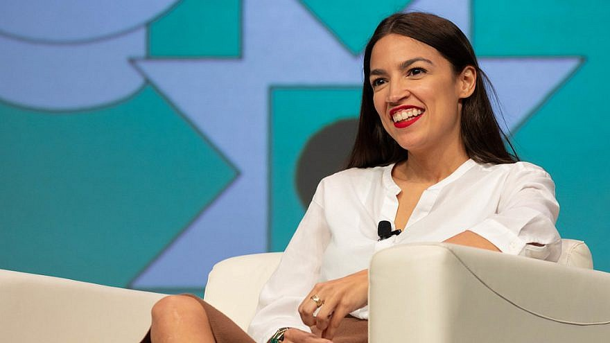 Rep. Alexandria Ocasio-Cortez (D-N.Y.) at SXSW 2019. Credit: Flickr.