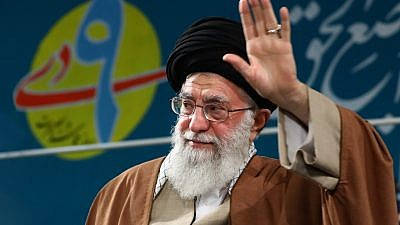 Iran's Supreme Leader Ayatollah Ali Khamenei, Dec. 27, 2017. Credit: Wikimedia Commons.