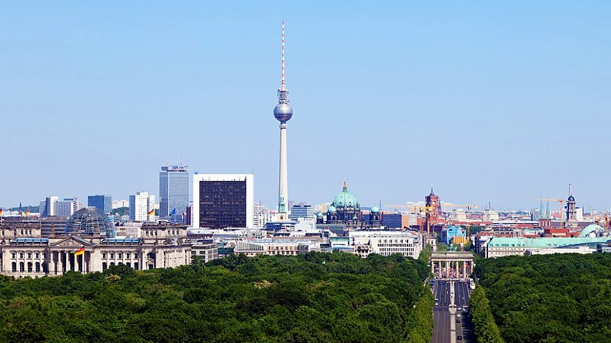 View of Berlin from the Victory Column. Credit: Thomas Wolf via Wikimedia Commons.