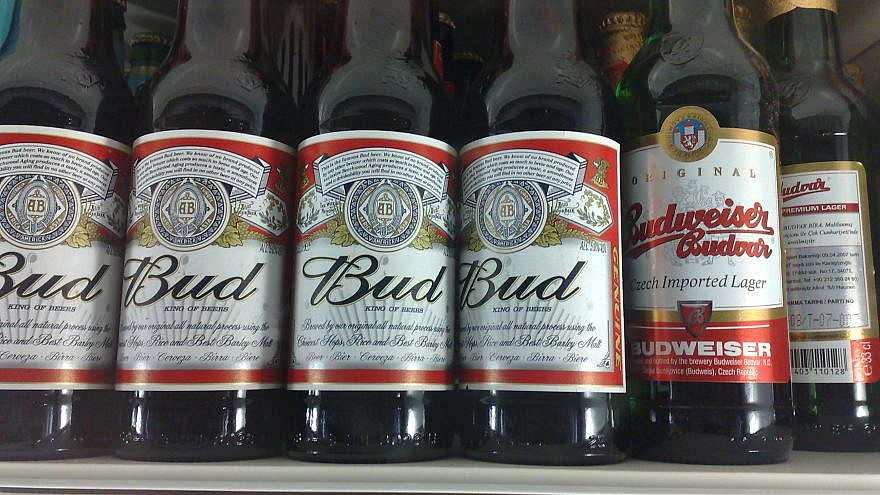 """American Budweiser is sold in most of the European Union as """"Bud."""" Credit: Wikimedia Commons."""