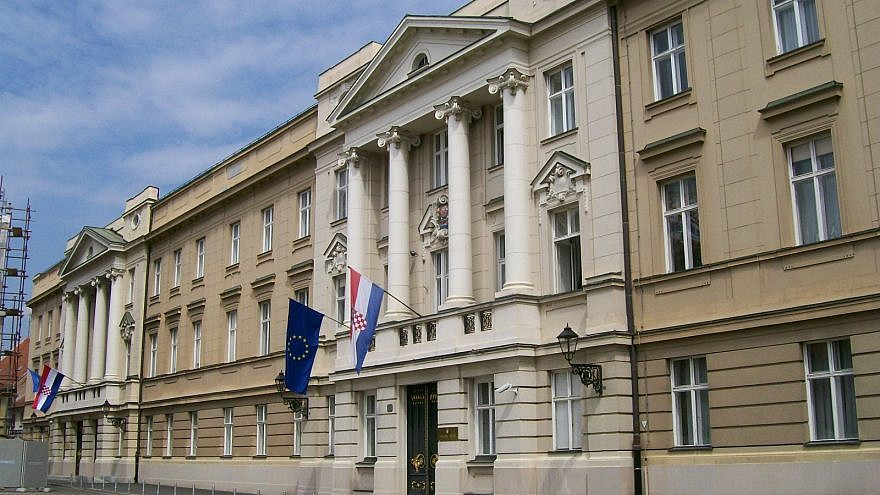 Croatian Parliament. Credit: Wikimedia Commons.