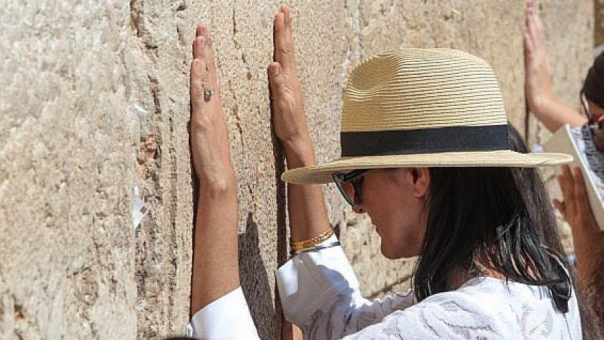 Former U.S. Ambassador to the United Nations Nikki Haley at the Western Wall in Jerusalem on June 26, 2019. Credit: Nikki Haley/Twitter.