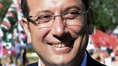 Ekrem Imamoğlu. Credit: Wikipedia.