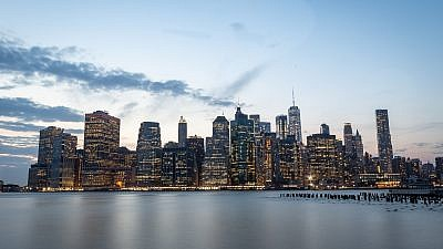 A view of Manhattan. Photo by Aharon Krohn/Flash90.