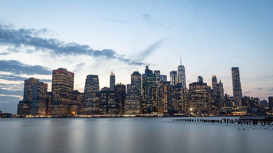 A view of Manhattan. Photo by Aharon Krohn/Flash90.
