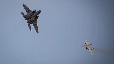 File photo: Israeli Air Force F-15 Eagle fighter planes. Credit: Aharon Krohn/Flash90.