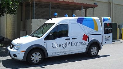 Google Express delivery van. Credit: Wikimedia Commons.