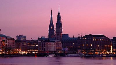 Hamburg. Credit: Wikimedia Commons.