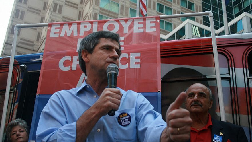 Former Rep. Joe Sestak (D-Pa.). Credit: Wikimedia Commons.