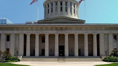 The Ohio Statehouse in Columbus. Credit: Wikimedia Commons.