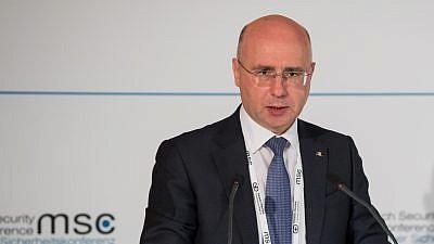 Moldovan Prime Minister Pavel Filip. Credit: Wikimedia Commons.
