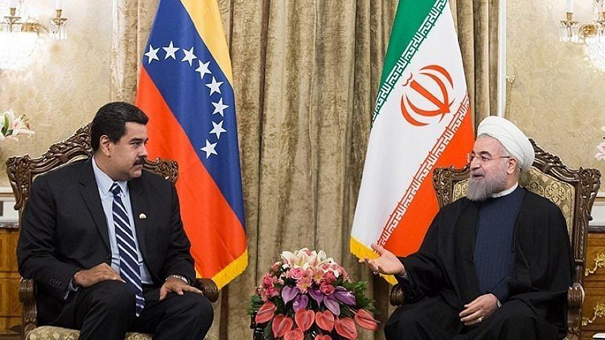 Venezuelan President Nicolas Máduro meets with Iranian Supreme Leader Ayatollah Ali Khamenei in November 2016. Credit: Wikimedia Commons.