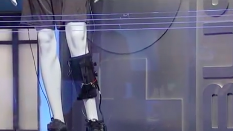 ReWalk Robotics Ltd.'s ReStore, an exoskeleton for stroke survivors. Credit: Screenshot.