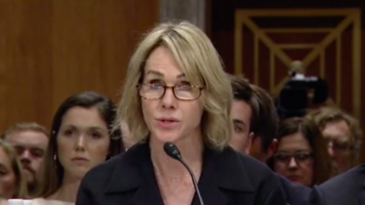 Kelly Craft testifies in front of the Senate Foreign Relations Committee over her nomination to be U.S. Ambassador to the U.N. Credit: Screenshot.