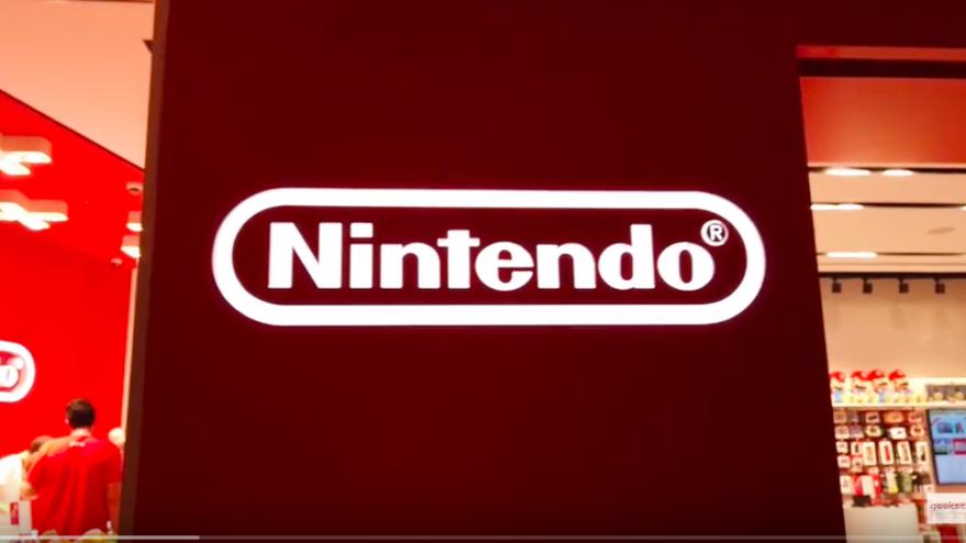 Nintendo store in Israel. Credit: Screenshot.