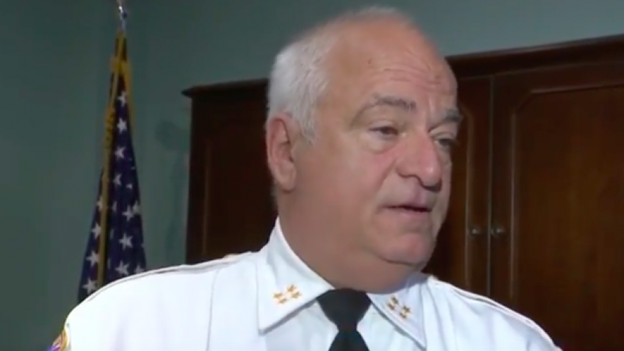 Michael Saudino, former sheriff of Bergen County, N.J. Credit: Screenshot.
