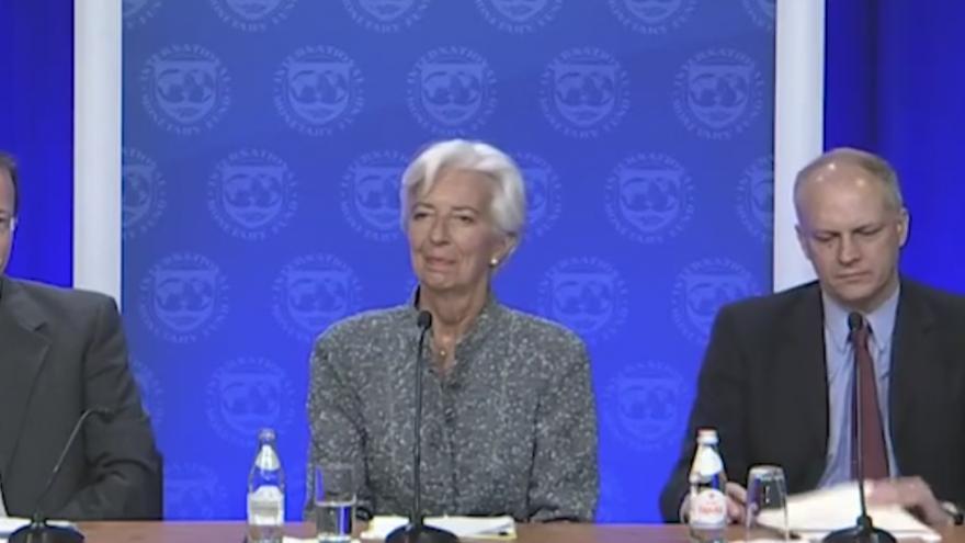 Christine Lagarde, managing director of the International Monetary Fund. Source: IMF website.