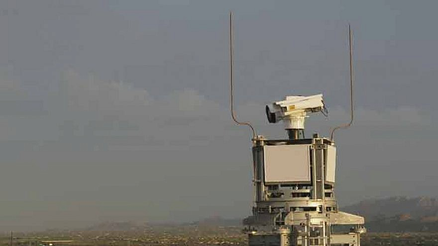 The Elbit Systems Integrated Fixed Towers system. Photo: Courtesy.