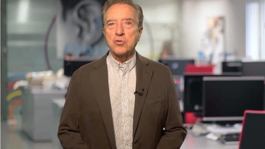 The veteran Spanish journalist and commentator Iñaki Gabilondo. Credit: European Jewish Congress.