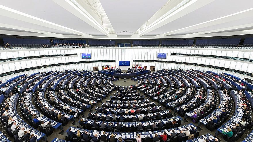 European Parliament. Credit: Wikimedia Commons.