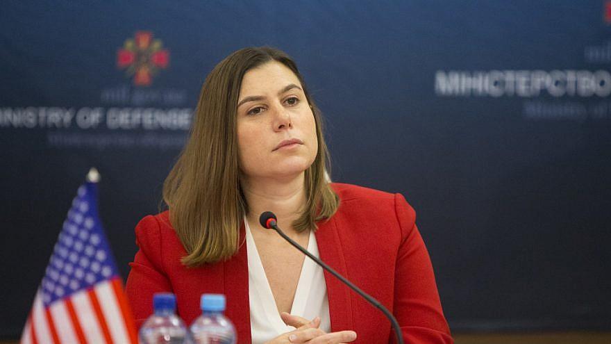 Rep. Elissa Slotkin (D-Mich.). Credit: U.S. Embassy in Kyiv, Ukraine.