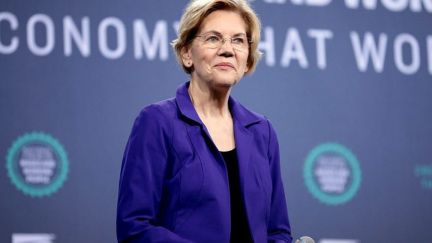 U.S. Sen. Elizabeth Warren (D-Mass.). Credit: Flickr.
