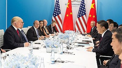 U.S. President Donald Trump and President Xi Jinping meet during the G20 summit in Germany, on July 8, 2017. Official White House Photo by Shealah Craighead.