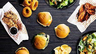 Menu items from the Israeli global chain Burgerim. Credit: Burgerim.com.