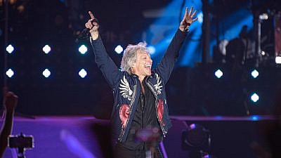 Jon Bon Jovi performs in Tel Avivon July 25, 2019. Courtesy: Live Nation.