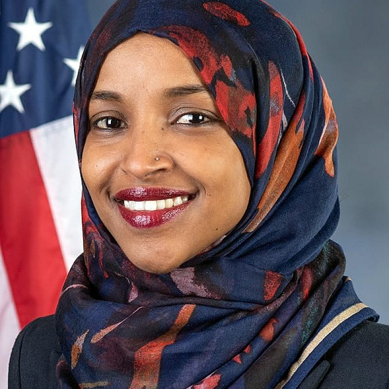 Ilhan Omar (D-Minn.). Official photo.