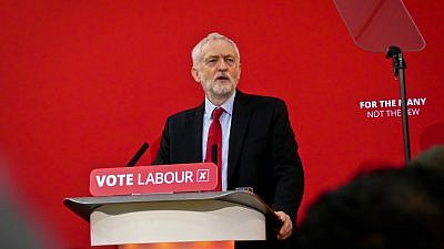 Jeremy Corbyn, leader of the Labor Party. Credit: Wikimedia Commons.