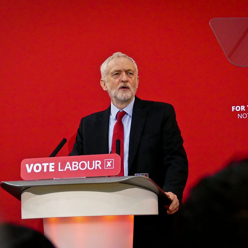 Jeremy Corbyn, former leader of the British Labour Party. Credit: Wikimedia Commons.