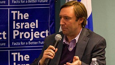 Josh Block, The Israel Project. Credit: Screenshot.