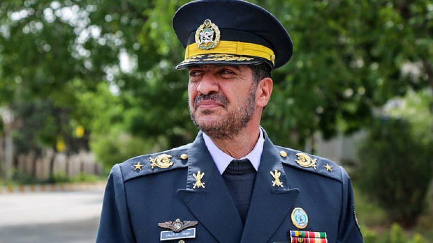 Iranian Air Defense Force commander Brig. Gen. Alireza Sabahifard. Credit: Mehr News Agency.