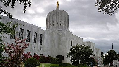 Oregon's state capitol. Credit: Wikimedia Commons.