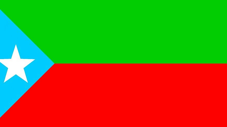 The flag of the Balochistan Liberation Army. Credit: Wikimedia Commons.