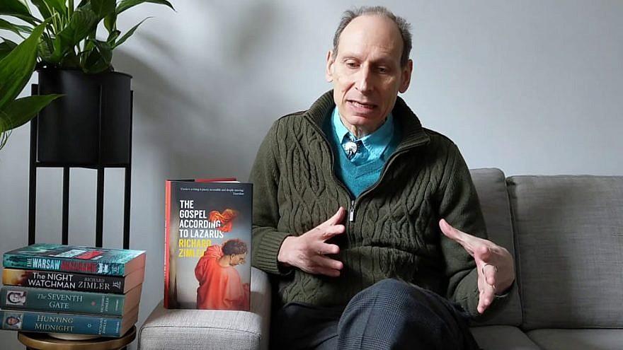 "Richard Zimler, author of ""The Gospel According to Lazarus."" Credit: Zimler.com."