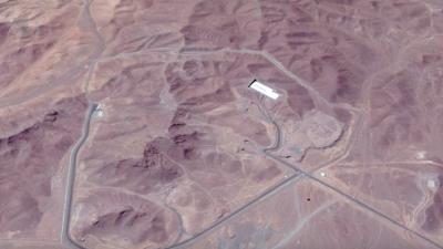 Iran's Fordow fuel-enrichment plant. Source: Screenshot.