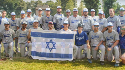 Israel's national baseball team, 2018. Source: Israel Baseball Association.