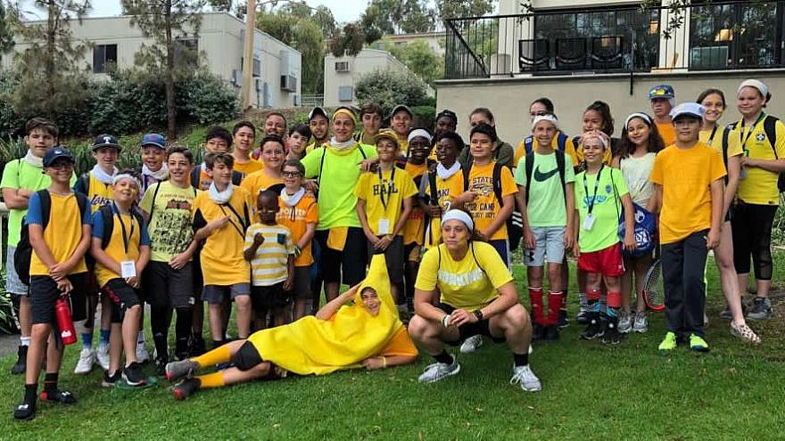 URJ 6 Points Sports Academy-California in Los Angeles. Credit: Foundation for Jewish Camp.