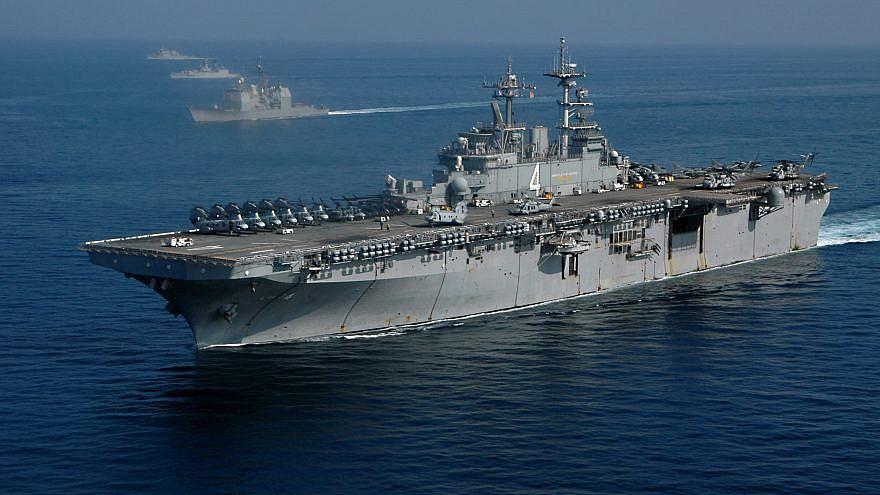 """USS Boxer."" Credit: Paul Polach/U.S. Navy."