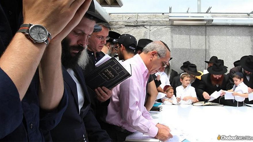 People from all walks of Jewish life, in communities large and small, are coming together to mark the 25th anniversary of the passing of the Lubavitcher Rebbe, Rabbi Menachem M. Schneerson, of righteous memory. Credit: Bentzi Sasson, Chabad.org/News.