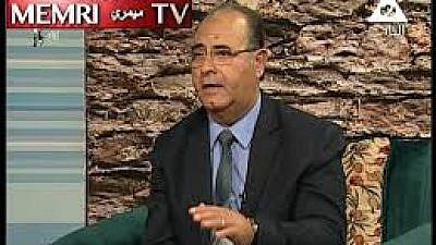 Dr. Fouad M. AbdelWahed. (MEMRI)