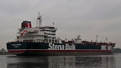"The ""Stena Impero."" Source: Vesselfinder.com."