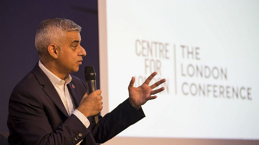 London Mayor Sadiq Khan. Credit: Flickr.