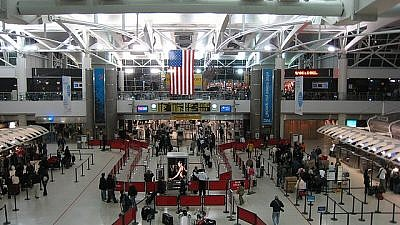 New York's John F. Kennedy International Airport. Source: Doug Letterman via Wikimedia Commons.