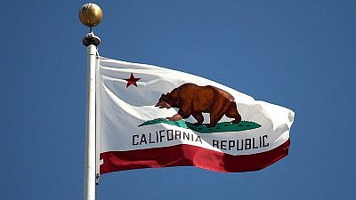 The flag of California. Credit: Wikimedia Commons.