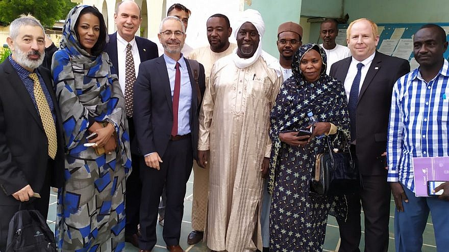 Israeli and local Chadian governmental ministries meet to discuss the economic development and other forms of cooperation, August 2019. Credit: Israeli Ministry of Agriculture and Rural Development.
