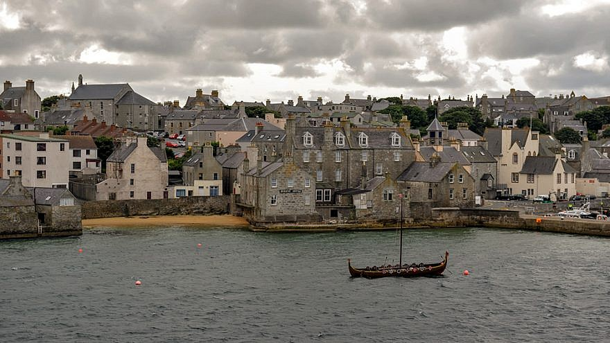 Lerwick, Shetland Islands, Aug.  24, 2010. Credit: Gilles Messian via Wikimedia Commons.