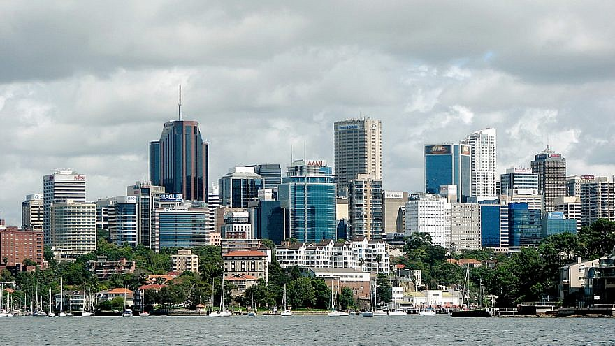 North Sydney skyline. Credit: Gord Webster via Wikimedia Commons.